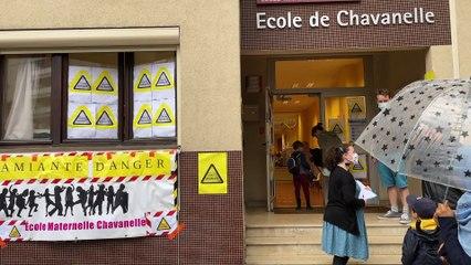 Saint-Étienne : de l'amiante dans l'école, les parents inquiets