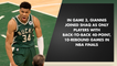 Giannis Antetokounmpo Odds For NBA Finals Game 4