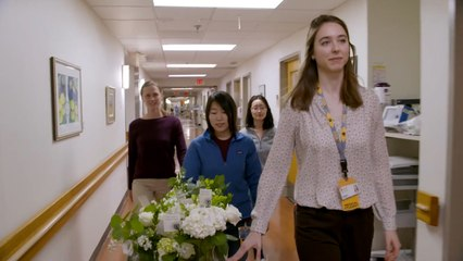 Doctor Collects, Delivers Wedding Flowers to Lonely Patients