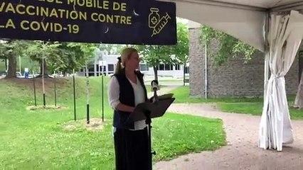 Karine Sauvé, directrice de la campagne de vaccination du CISSS de la Montérégie-Centre