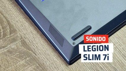 Prueba sonido Legion Slim 7i