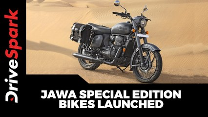 Jawa Special Edition Bikes Launched