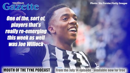 Mouth of the Tyne podcast: Miles Starforth on Joe Willock