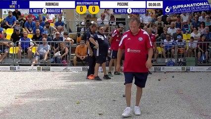 32e ROBINEAU vs PISCONE 6e Supranational de la Ville de Valréas - Juillet 2021