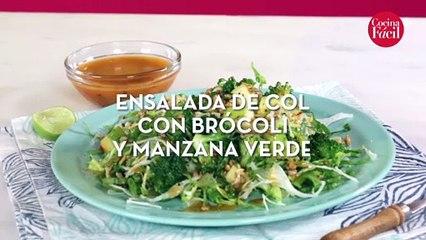 Disfruta de una deliciosa ensalada bastante sencilla de preparar.