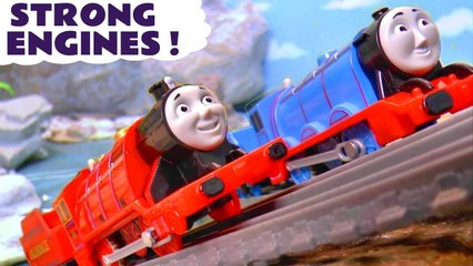 Thomas and Friends Strong Engines with the Funlings in these Family Friendly Full Episode English Stop Motion Toy Stories for Kids by Kid Friendly Family Channel Toy Trains 4U
