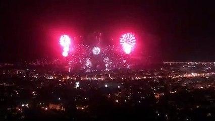 Cannes ouvre son festival d'art pyrotechnique