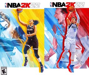 EA Announces Candace Parker and Luka Dončić as 'NBA 2K22' Cover Stars