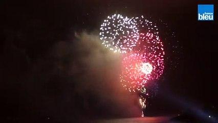 Le feu d'artifice du 14 juillet à La Rochelle
