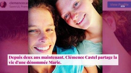 Clémence Castel fait son coming out : son ex Mathieu Johann réagit