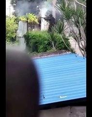 Policia dispara contra manifestantes en Cuba