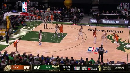 Bucks level NBA Finals at 2-2 with 109-103 win over Suns
