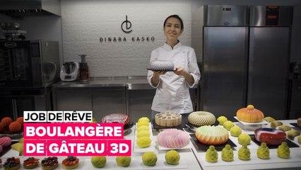 Job de rêve : boulangère de gâteau 3D