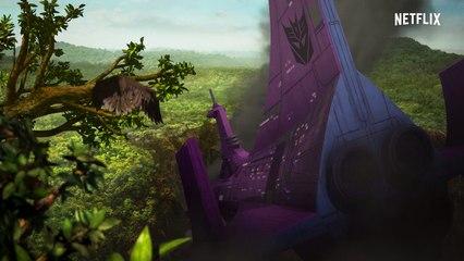 Bande-annonce officielle de Transformers, la Guerre pour Cybertron