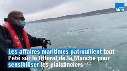 Les affaires maritimes patrouillent en mer