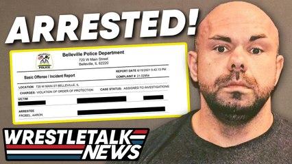 DISGRACED Wrestler Arrested, Alberto Del Rio Threats, AEW Fyter Fest Review | WrestleTalk