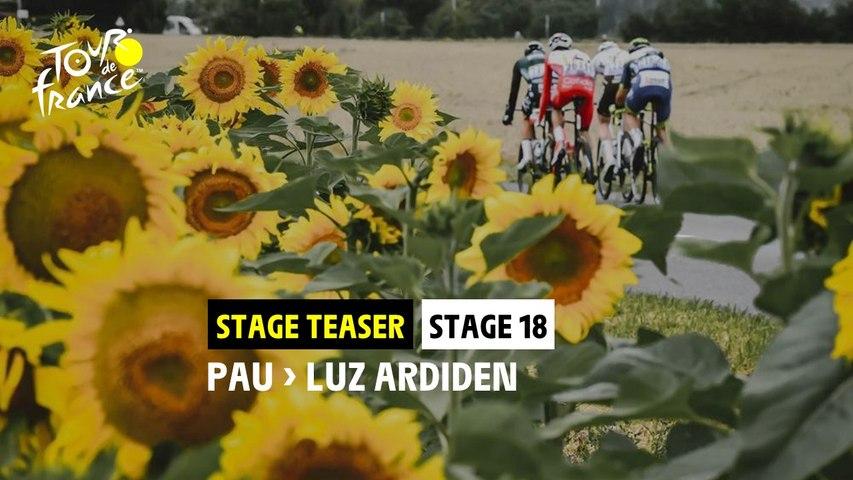 #TDF2021 - Teaser Étape 18 / Stage 18