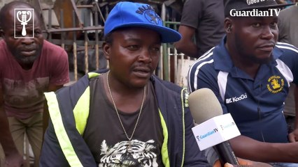Ladipo traders talk about how military men stormed the market killing one injuring several