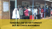 Tension, low voter turnout but no chaos in Kiambaa