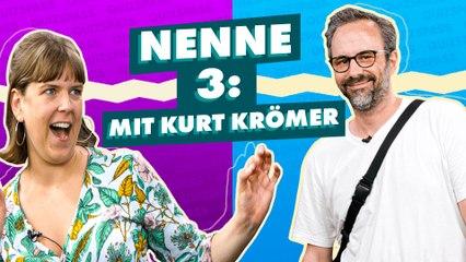 """Kurt Krömer in der """"Nenne 3""""-Challenge!"""