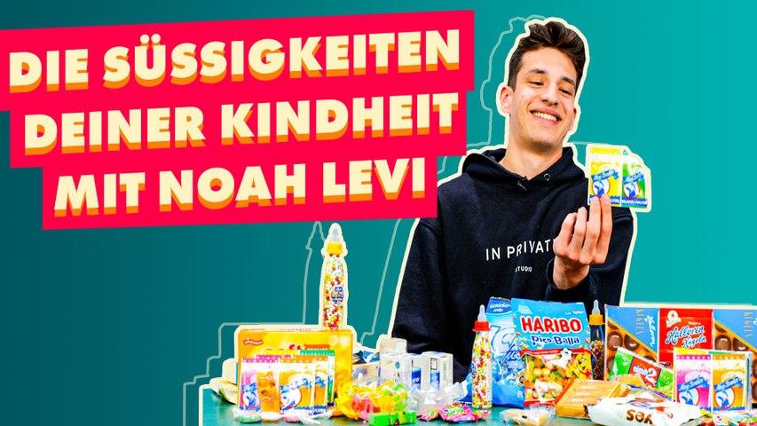 Noah Levi testet die Süßigkeiten unserer Kindheit!