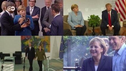 От Буша до Байдена: Меркель и четыре президента США (15.07.2021)