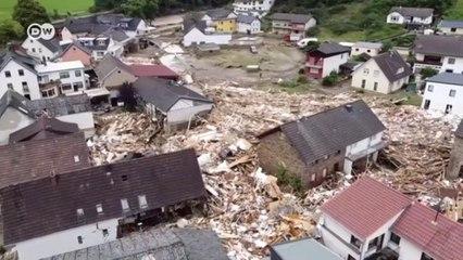 Погодные катаклизмы - 2021: наводнение в Германии, пожары в России и США (15.07.2021)