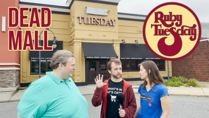 Ruby Tuesday at a Closed Mall | RIP Restaurants & Retail