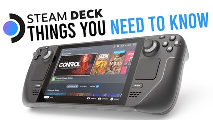 Steam Deck: 10 Things You NEED TO KNOW