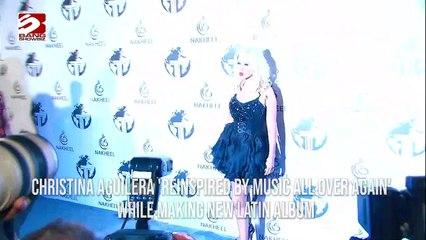 Christina Aguilera reinspired by Music again