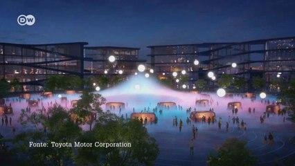 """Conheça o projeto """"Woven City"""", a cidade entrelaçada do futuro"""