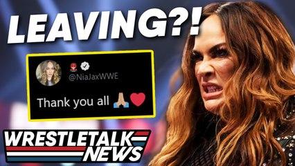 Nia Jax LEAVING WWE Tease?! AEW BEATS WWE Raw! MAJOR WWE SPOILERS | Wrestling News