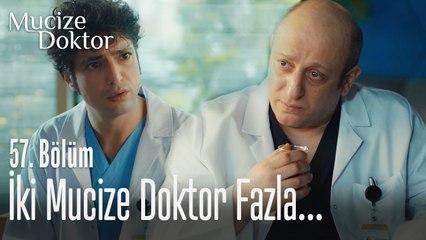 Bir hastaneye iki mucize doktor fazla... -  Mucize Doktor 57. Bölüm