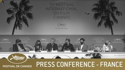 FRANCE - PRESS CONFERENCE - CANNES 2021 - EV