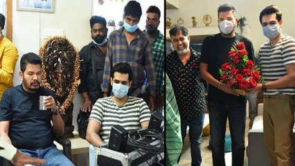 #RAP019 : Director Shankar Visits Ram-Lingusamy's Bi Lingual Film Sets || Filmibeat Telugu