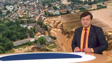 Страшная природная катастрофа на западе Германии: много жертв и разрушений. DW Новости (16.07.2021)