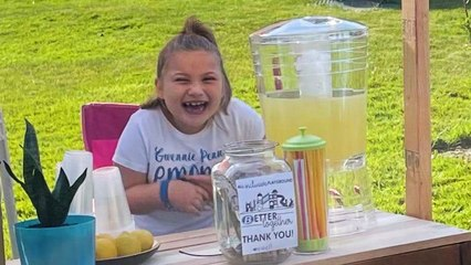 7-Year-Old's Lemonade Stand Raises Money For Inclusive Playground