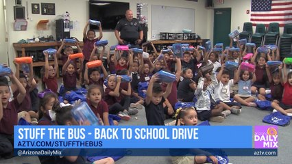 Helping Hands For Freedom is Helping to Stuff the Bus in 2021!