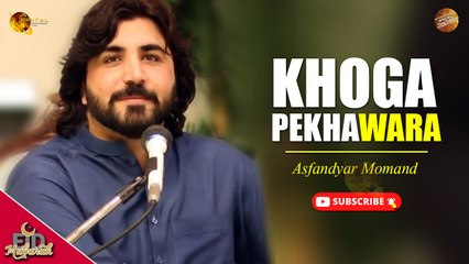 Pashto New Song   Khoga Pekhawara   Asfandyar Momand   Spice Media