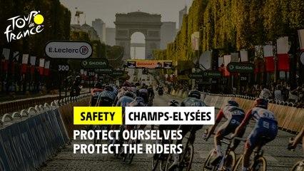 #TDF2021 - Safety - Champs-Elysées arrival