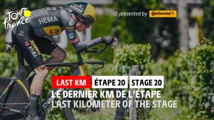 Flamme Rouge / Last KM - Étape 20 / Stage 20 - #TDF2021