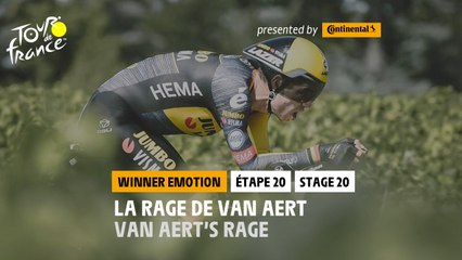 #TDF2021 - Étape 20 / Stage 20 - Winner's emotion / L'émotion du Vainqueur