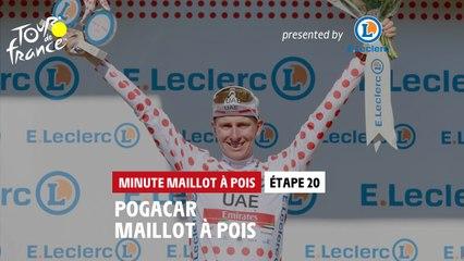 #TDF2021 - Étape 20 / Stage 20 - E.Leclerc Polka Dot Jersey Minute / Minute Maillot à Pois