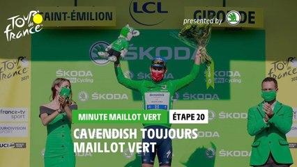 #TDF2021 - Étape 20 / Stage 20 - Škoda Green Jersey Minute / Minute Maillot Vert