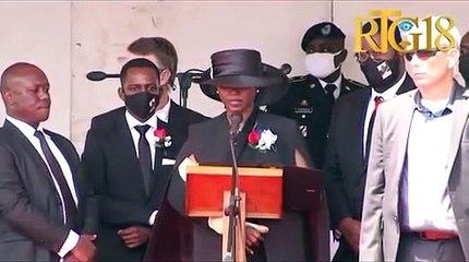 Yo asasinen w men yo la a ap gade n; abandone w, trayi w ... Diskou Martine Moïse.