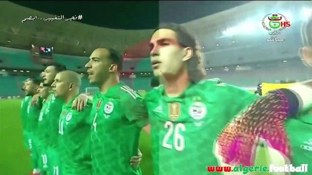 Amical  - Tunisie 0 - Algérie 2 avec les réactions de Belmadi