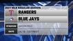 Rangers @ Blue Jays Game Preview for JUL 18 -  1:07 PM ET