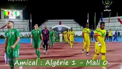 Amical : Algérie 1 – Mali 0