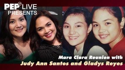 #MaraClaraOnPEPLive with Judy Ann Santos and Gladys Reyes