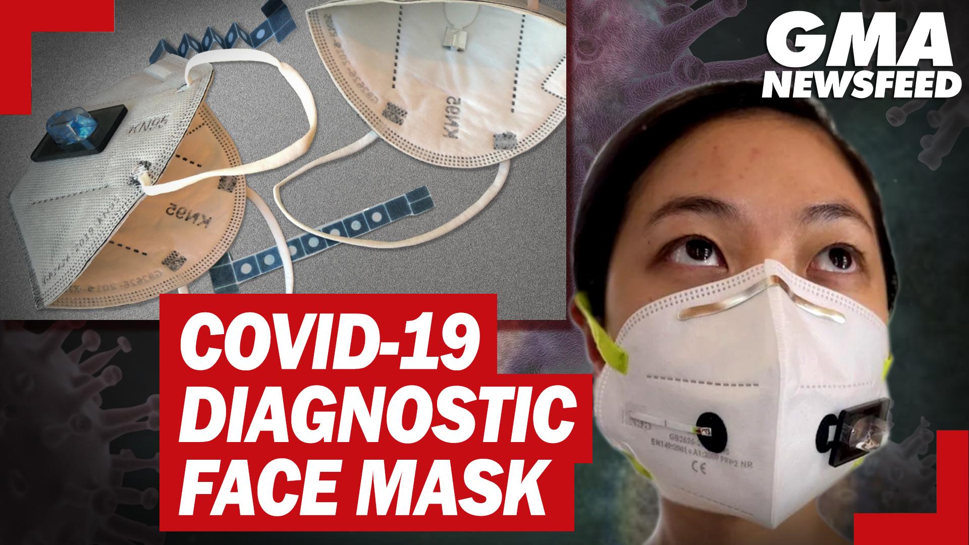 Face mask, kayang ma-detect ang COVID-19? | GMA News Feed
